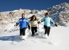 Skiing and snowboarding in Alta Badia