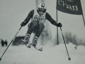Der Ski Champion Marcello Varallo
